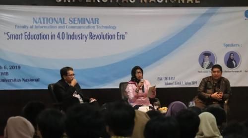 Mahasiswa dan Dosen FTKI Paparkan Hasil Jurnal Nasional dalam Seminar Nasional