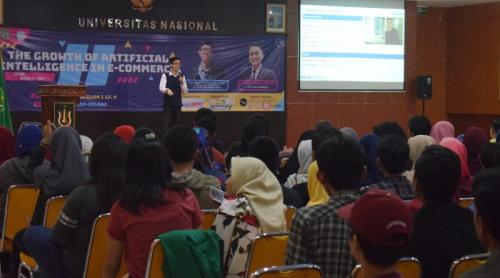 Mengulik Teknologi Artificial Intelligence Melalui Seminar IT FUN