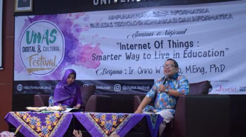 Tingkatkan Kualitas SDM Pengajar Yang Paham IoT
